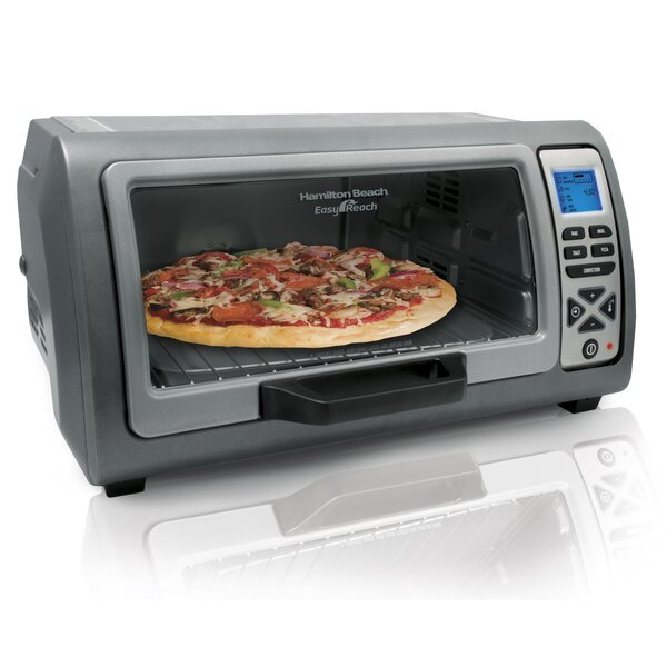 Easy Reach Digital Toaster Oven by Hamilton Beach