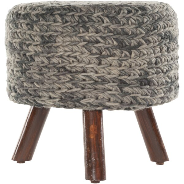 Alverez Handmade Accent stool by Three Posts