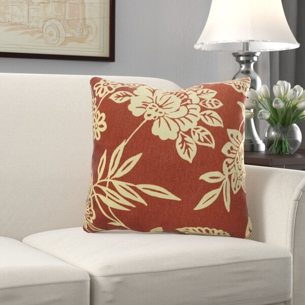 Wickes Indoor/Outdoor Throw Pillow (Set of 2) by Charlton Home