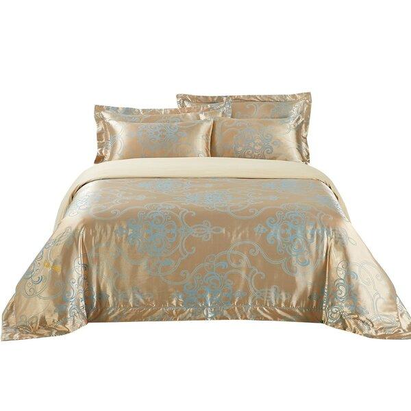 San Marino Cotton 6 Piece Reversible Duvet Cover Set