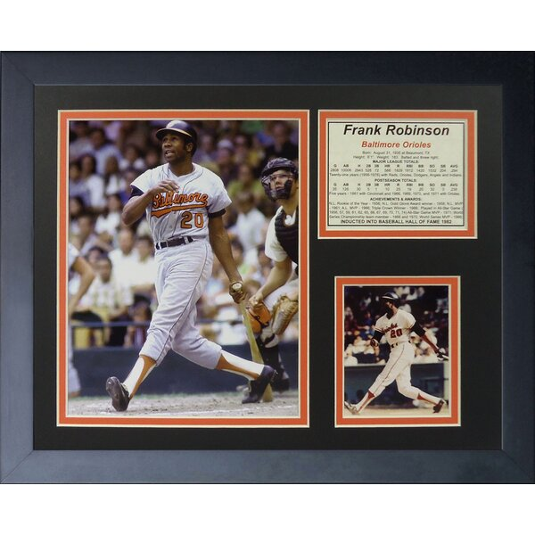 Frank Robinson Framed Memorabilia by Legends Never Die