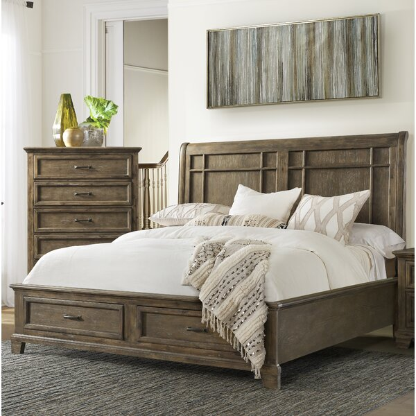 Charleston Storage Sleigh Bed by Gracie Oaks