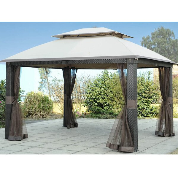 Replacement Mosquito Netting for Revella Gazebo by Sunjoy