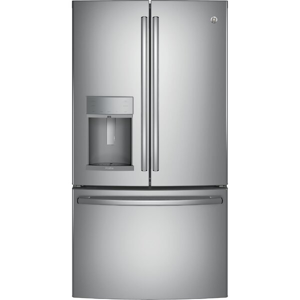 27.8 cu. ft. Energy Star® French Door Refrigerator With Hands-free Autofill by GE Profile™