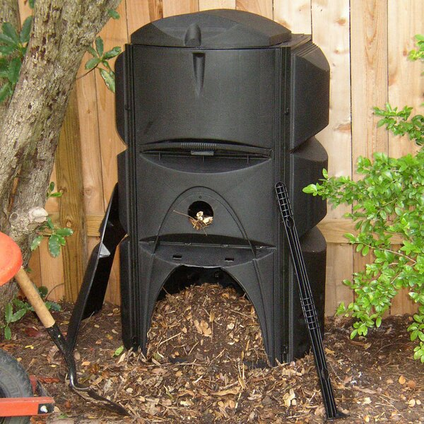 124 Gal. Stationary Composter by Exaco
