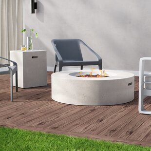 Best Price Olivet Propane Fire Pit Table ByWade Logan