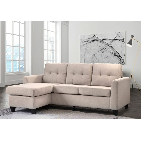 Lulie Left Hand Facing Sectional by Wrought Studio