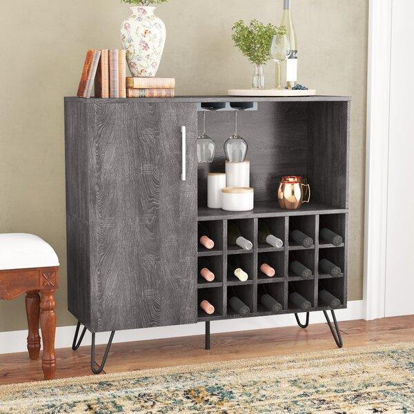 Buena Vista Mid Century Wine and Bar Cabinet by Zipcode Design