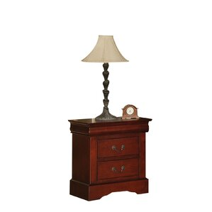 Whispering Pines 2 Drawer Nightstand by Alcott Hill