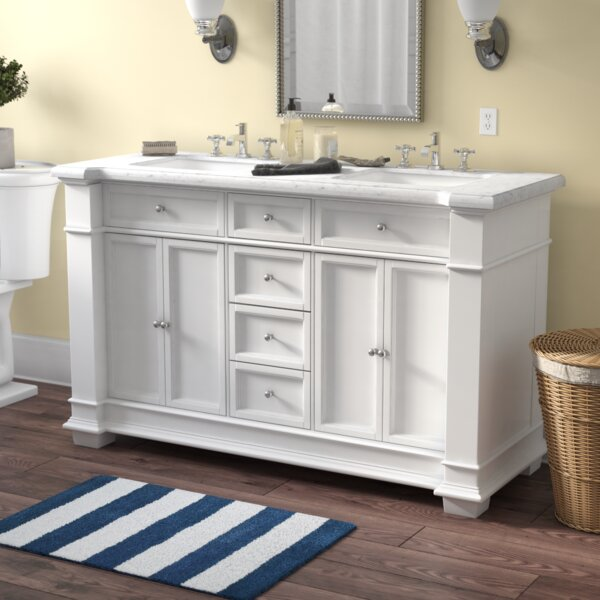 Riccardo 60 Double Bathroom Vanity Set by Darby Home Co