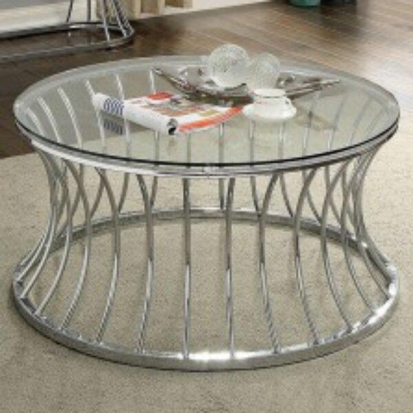 Waitsburg Drum Coffee Table By Brayden Studio