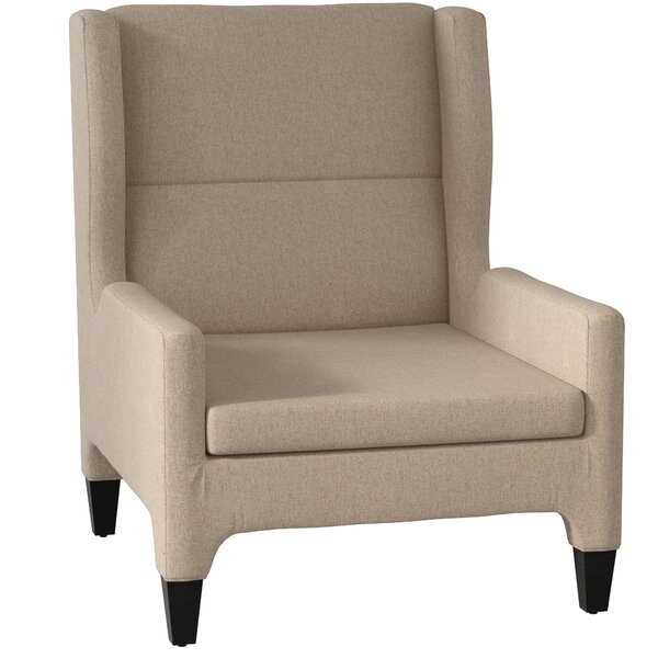 Renzo Wingback Chair by DwellStudio