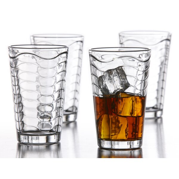 14 oz. Glass (Set of 4) by Style Setter