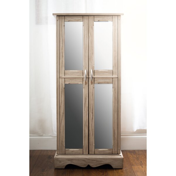 Chelsea Jewelry Armoire with Mirror by Hives and Honey