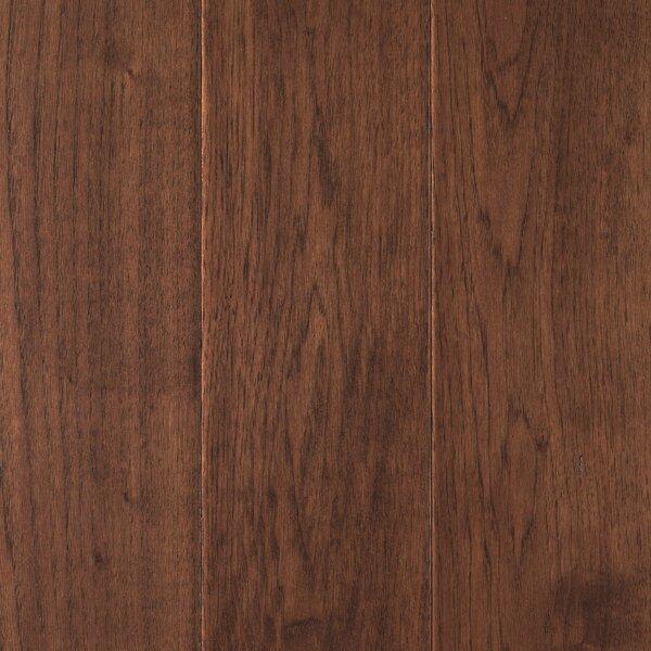 Danforth Random Width Engineered Hickory Hardwood Flooring in Sepia by Mohawk Flooring