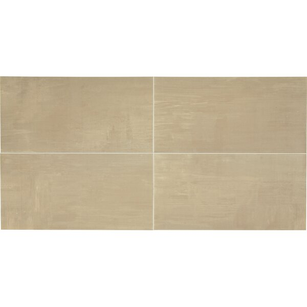 Clearview 12 x 24 Ceramic Field Tile in Beige by Itona Tile