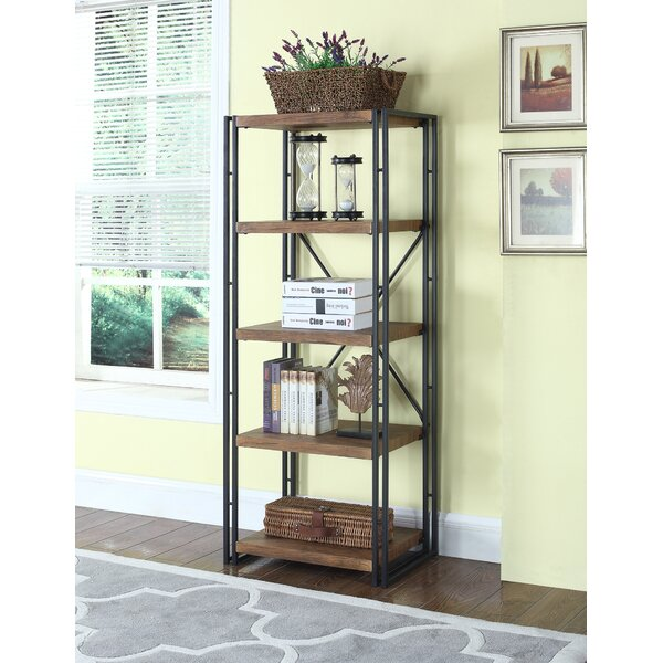 Aristaun Coaster Etagere Bookcase by 17 Stories