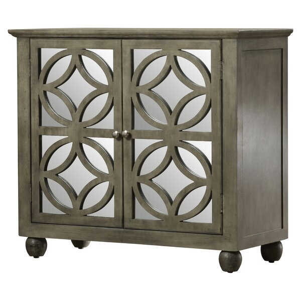Mallen 2 Door Mirrored Accent Cabinet by Willa Arlo Interiors Willa Arlo Interiors