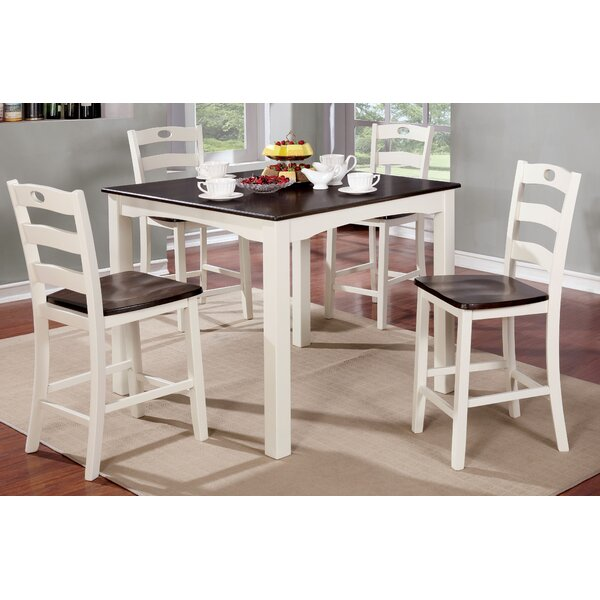 Gullo Transitional Counter Height Dining Set By Alcott Hill 2019 Sale