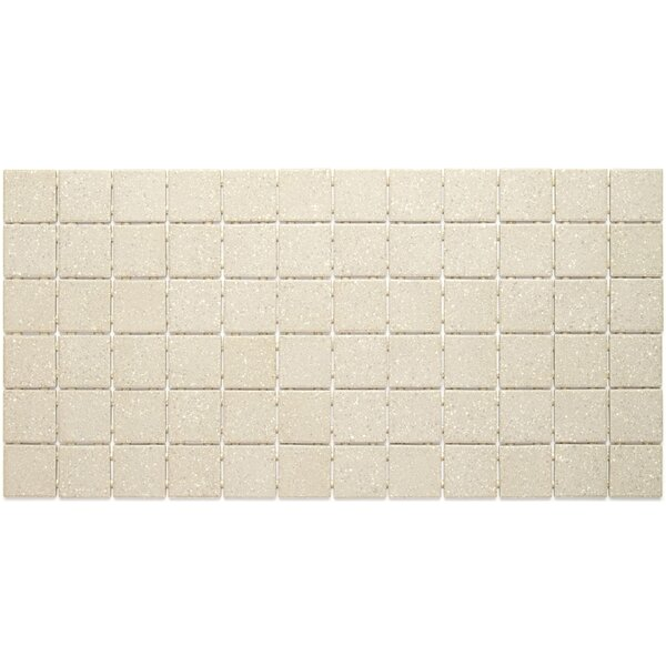 Dalton 12 x 24 Porcelain Mosaic Tile in Putty Speckle by Itona Tile