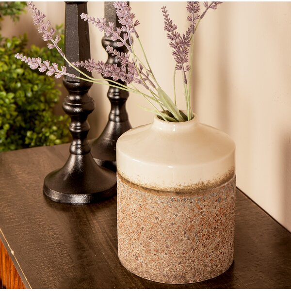 Lewellen Contemporary Stoneware Table Vase by Charlton Home