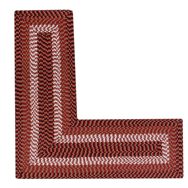 Vienne Burgundy Area Rug by August Grove
