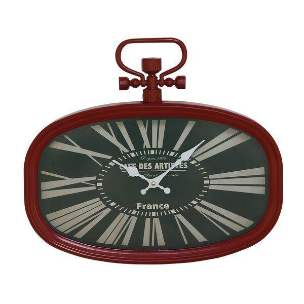 Metal Oval Wall Clock by Cole & Grey| @ $67.99
