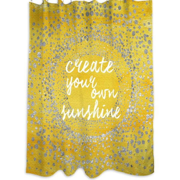 Your Own Sunshine Shower Curtain by Oliver Gal