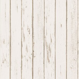 Northwoods Distressed Plank Wallpaper by Brewster Home Fashions