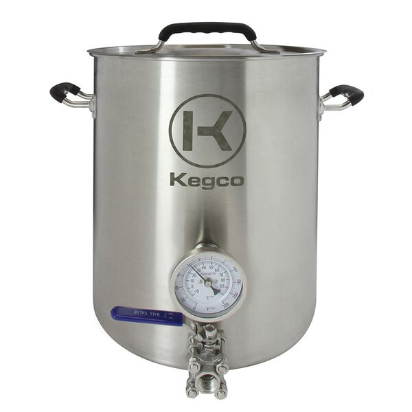 3 Piece Brew Kettle Set by Kegco