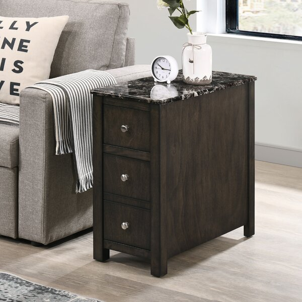 Cornay 3 Drawer End Table With Storage By Latitude Run