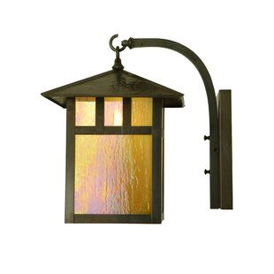 Affordable Price 1-Light Outdoor Wall Lantern By Meyda Tiffany