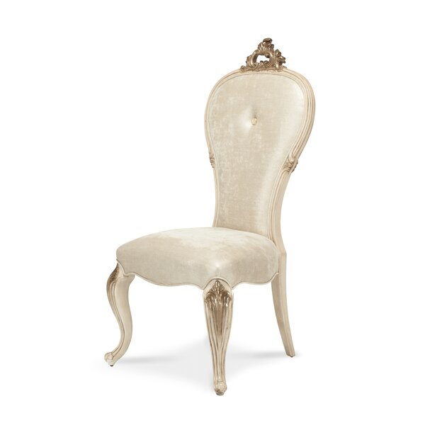 Platine De Royale Side Chair by Michael Amini