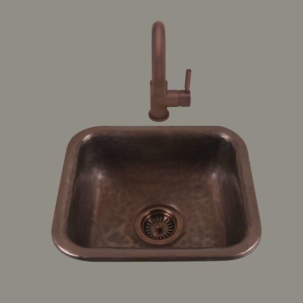 Zeus 14  L x 6.75 W Drop-In Kitchen Sink by Bates & Bates
