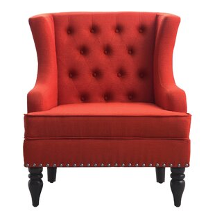 Jewel Wingback Chair iNSTANT HOME Great price