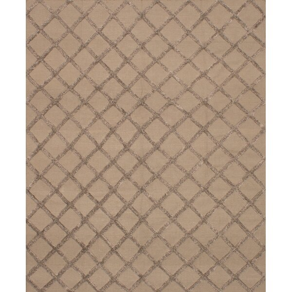 Bonefield Kilim Brown Area Rug by Rosdorf Park