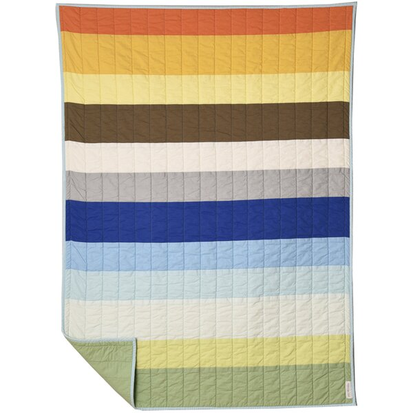 Rainbow Stripe Quilt by American Made Brand