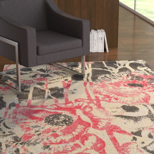 Ventnor Blush Area Rug by Latitude Run