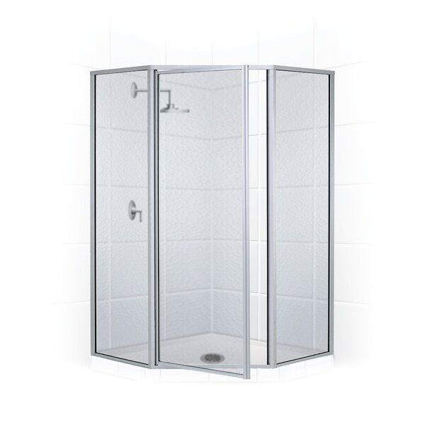 Legend Series Framed 57 x 70 Neo-Angle Hinged Shower enclosure by Coastal Shower Doors