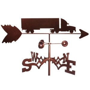 Semi Truck Weathervane