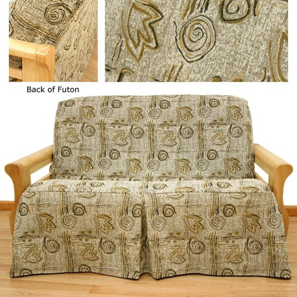 Melody Box Cushion Futon Slipcover by Easy Fit