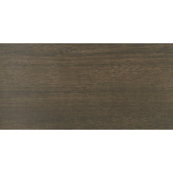 Harmony Grove 6 x 36 Porcelain Wood Look Tile in Olive Chocolate by PIXL