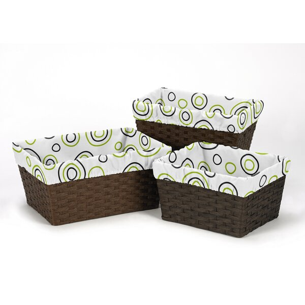 Spirodot Basket Liners by Sweet Jojo Designs