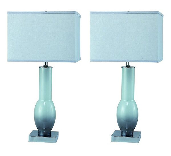 Stilson Modern 26 Table Lamp (Set of 2) by Latitude Run