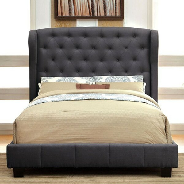 Mckinney Upholstered Platform Bed by Alcott Hill