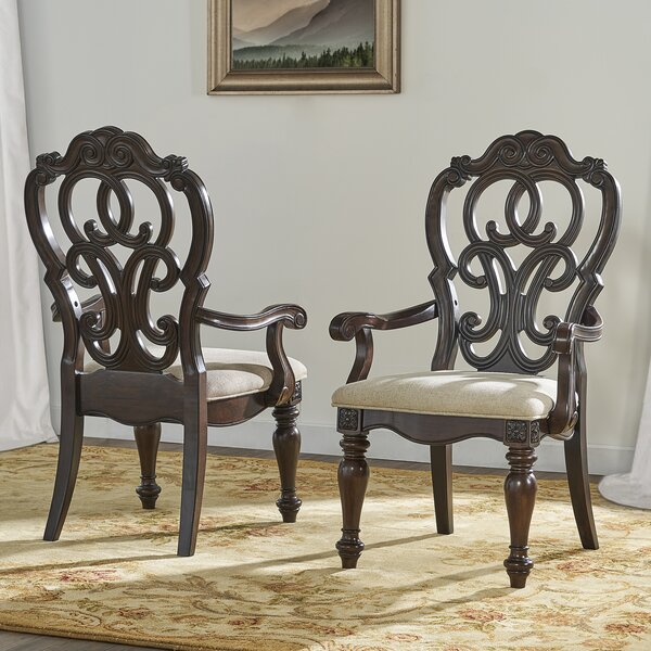 Valerian Solid Wood Dining Chair (Set of 2) by Astoria Grand Astoria Grand