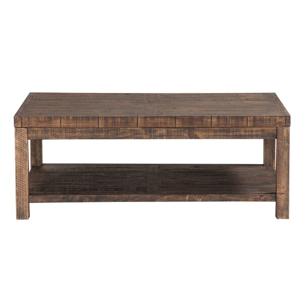 Stamant Solid Wood Coffee Table By Millwood Pines