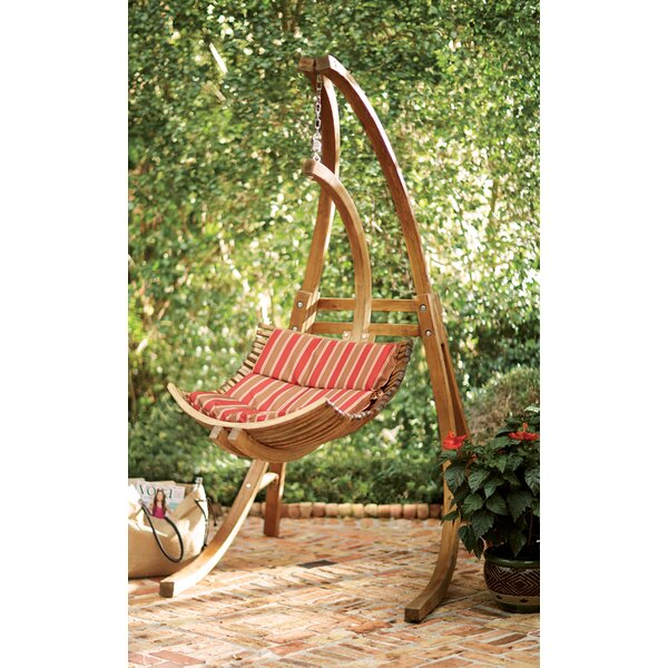 Ruth Swing Chair with Stand by Beachcrest Home
