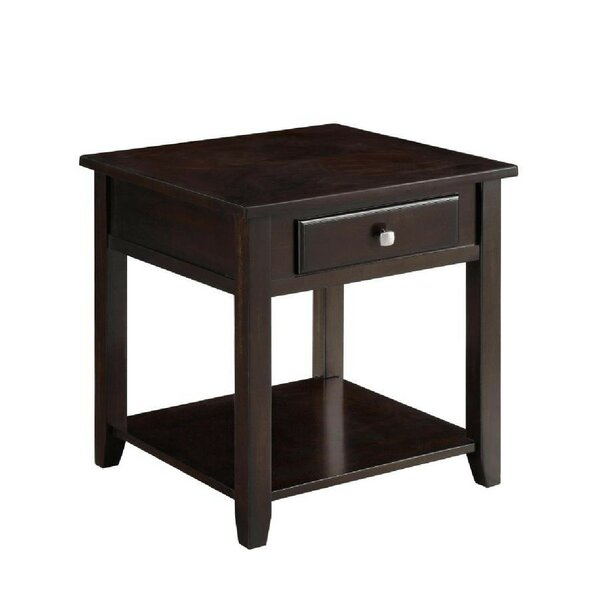 Donner End Table With Storage By Red Barrel Studio