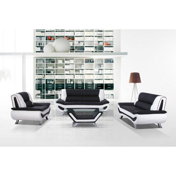 Berkeley Heights 3 Piece Living Room Set by Wade Logan